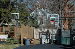 basketball hoops in havertown