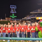 HMS 7th Heaven sang @ the Phillies!