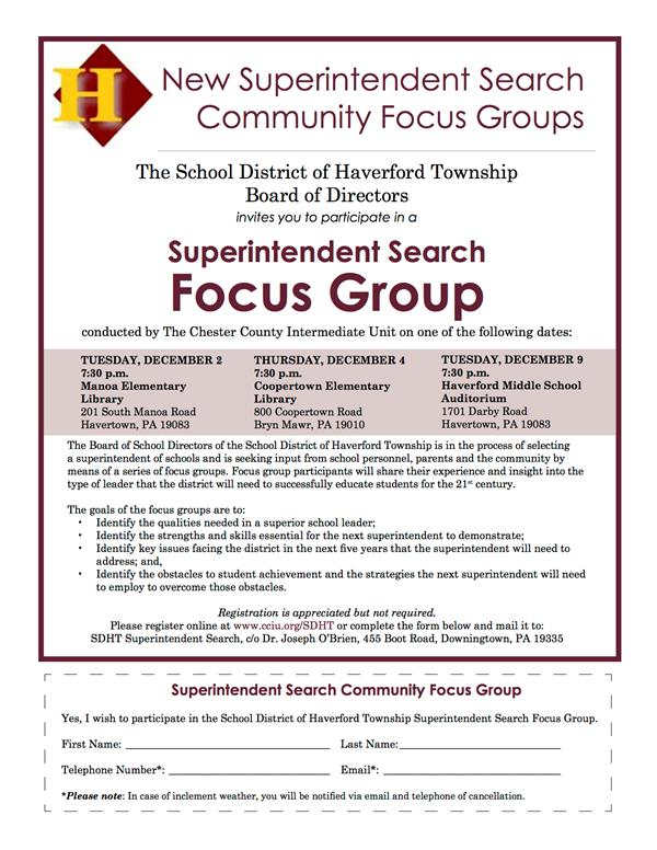 Community_HaverfordFocusGroupFlyer