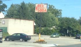 Broken BeerSoda sign