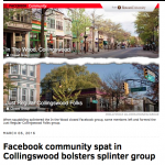 Collingswood Facebook Community Group (Like H-Town's) Blows Up