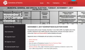 Election Day Nov 7 2017